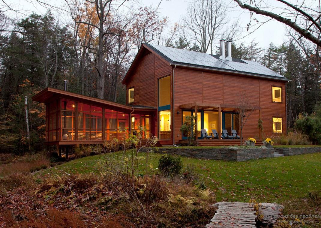 элементы каменного оформления загородного дома