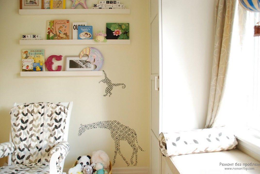 Виниловые наклейки для стен, Украшаем интерьер легко: декор стикерами