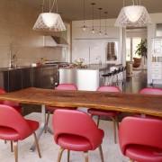 Интерьер необычной кухни фото