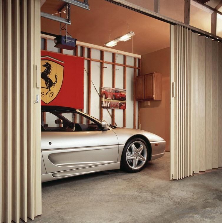 Дверь-гармошка и дверь-книжка в дизайне интерьера, Идеи обустройства