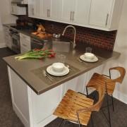 Угловая мойка для кухни №5
