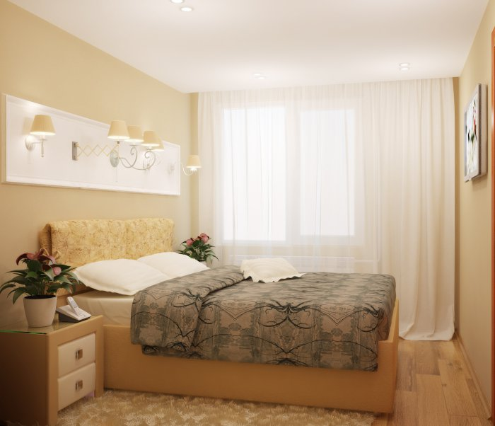 Ремонт своими руками спальни в хрущевке фото