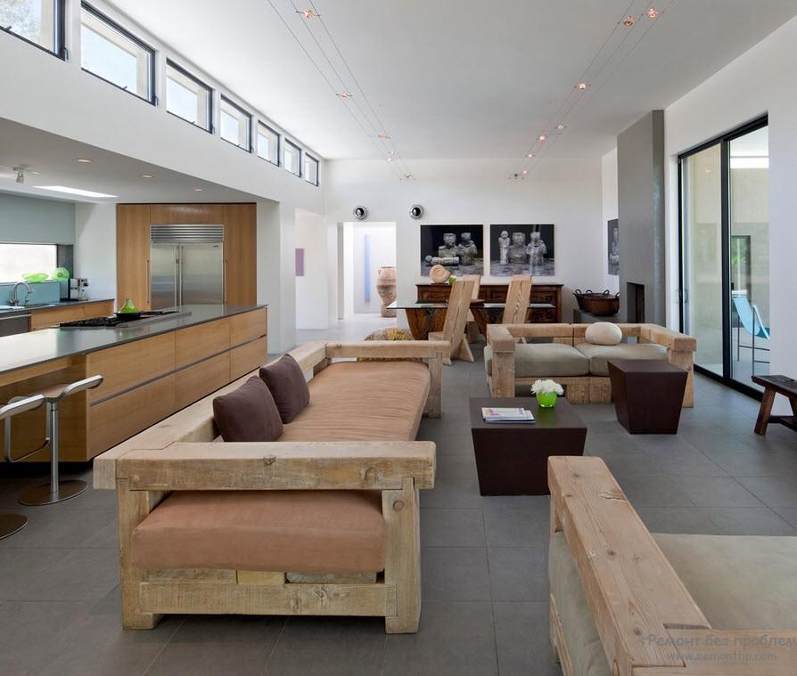 Современный вариант деревянной мебели