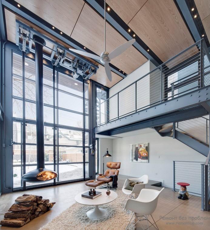 Лофт в интерьере: дизайн квартиры в стиле лофт, элитные ф....