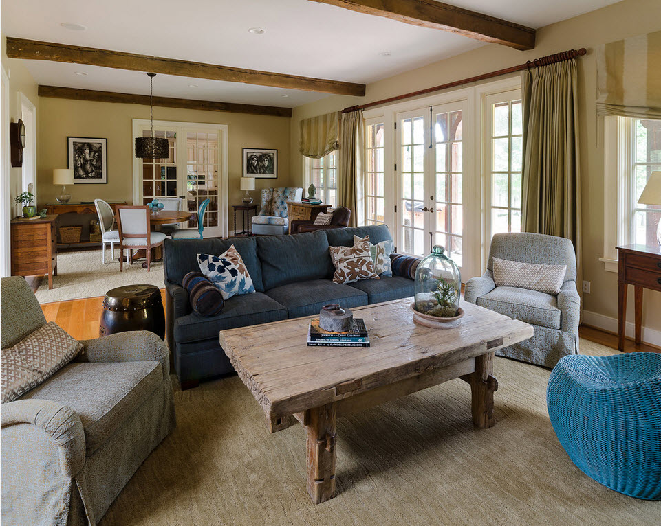 Мебель в интерьере casual: мягкость, уют и комфорт