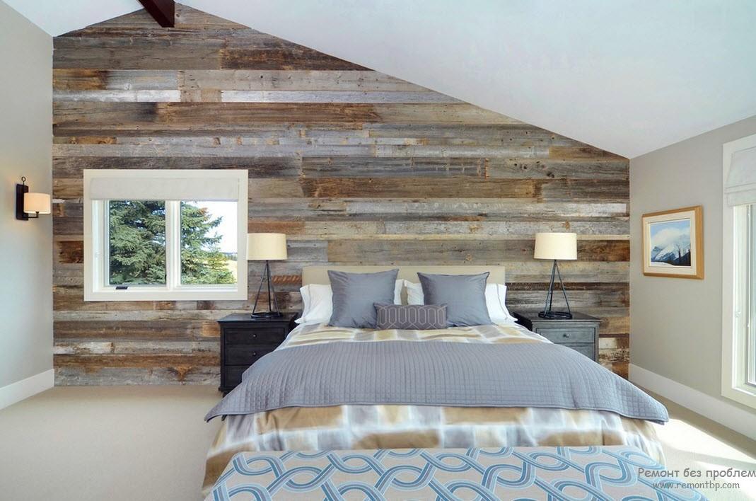 Деревянные обои - материал для отделки стен