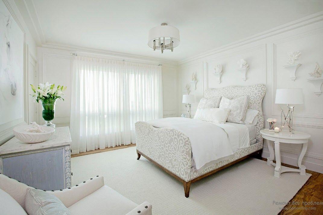 Комната отдыха в белом