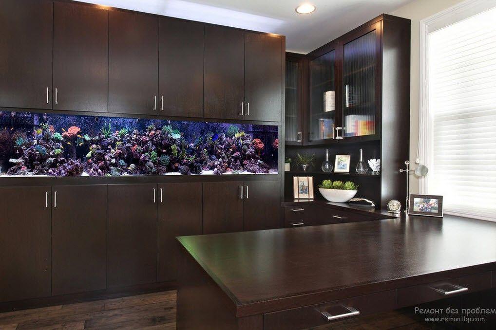 Подводный мир на кухне