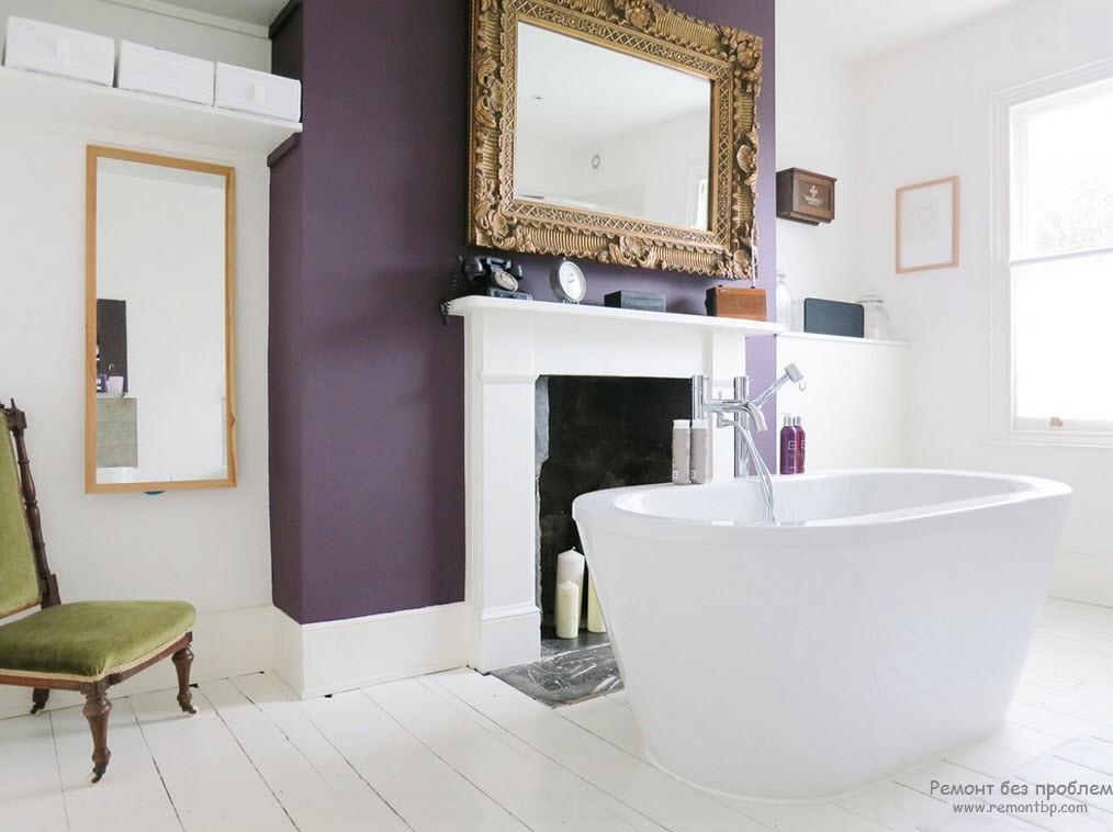 Обрамление фиолетовое