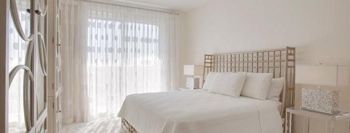 Оформляем спальню светлыми оттенками