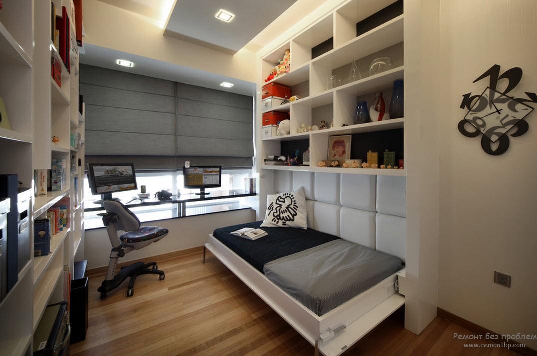 современная спальня в хрущевке