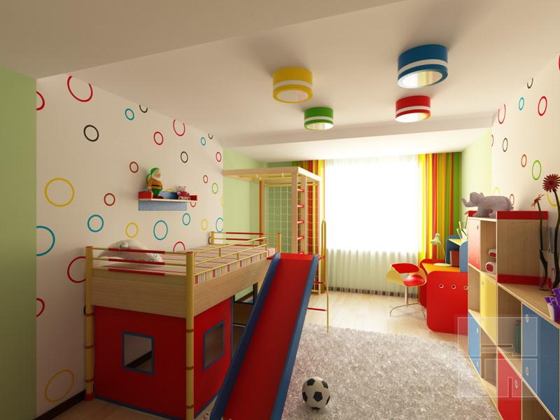 Светильники на потолке: гармония цвета и формы