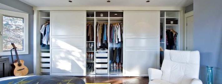 Шкаф–купе в интерьере – оптимальное решение организации неудобного пространства