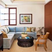 Интерьер маленькой гостиной: калейдоскоп иллюзий