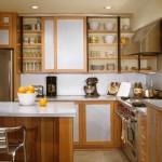 Металлическая кухня – стильный и современный вид