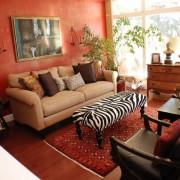 «Красная» гостиная сегодня – хороший вкус или безвкусица?