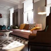 """""""Авангардный свет"""": окна, лампа и торшер"""