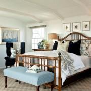 Дизайн спальни в колониальном стиле