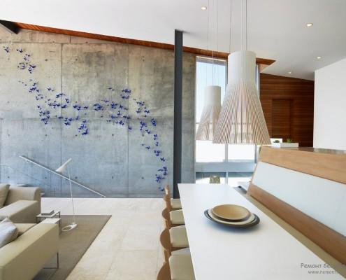 Интерьер квартиры в стиле фьюжн