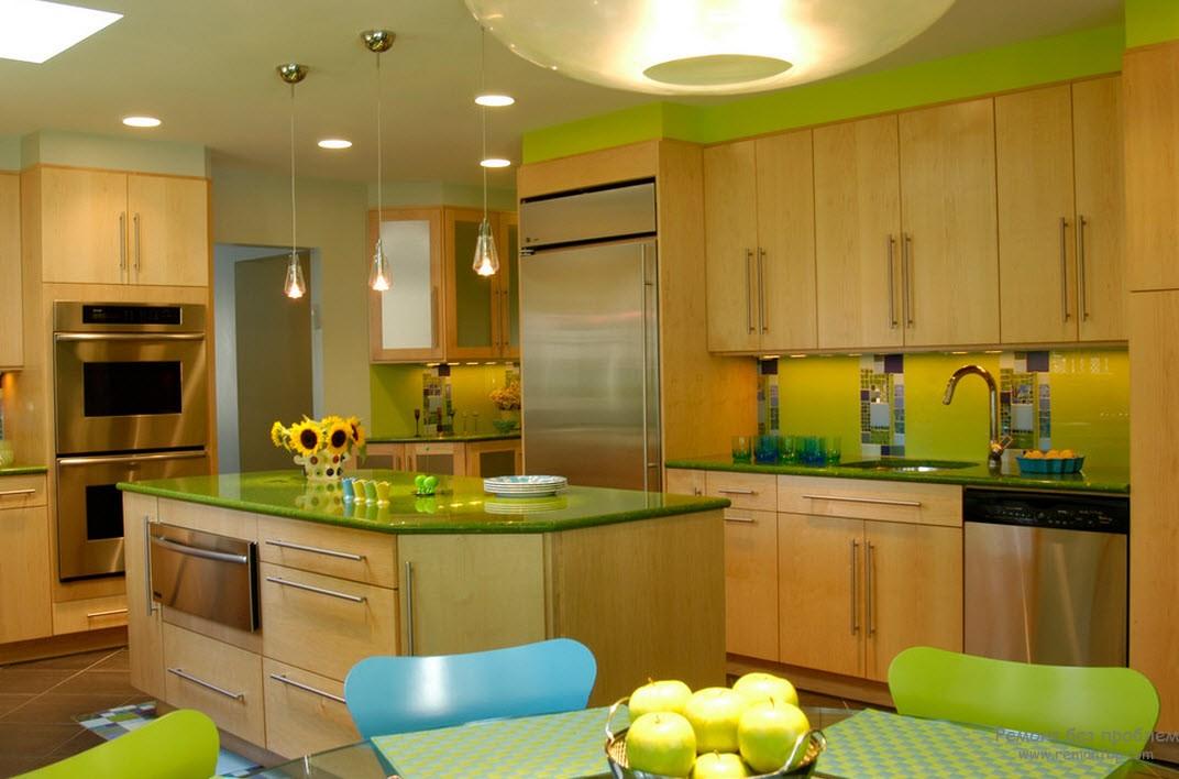 Цветовая палитра кухни