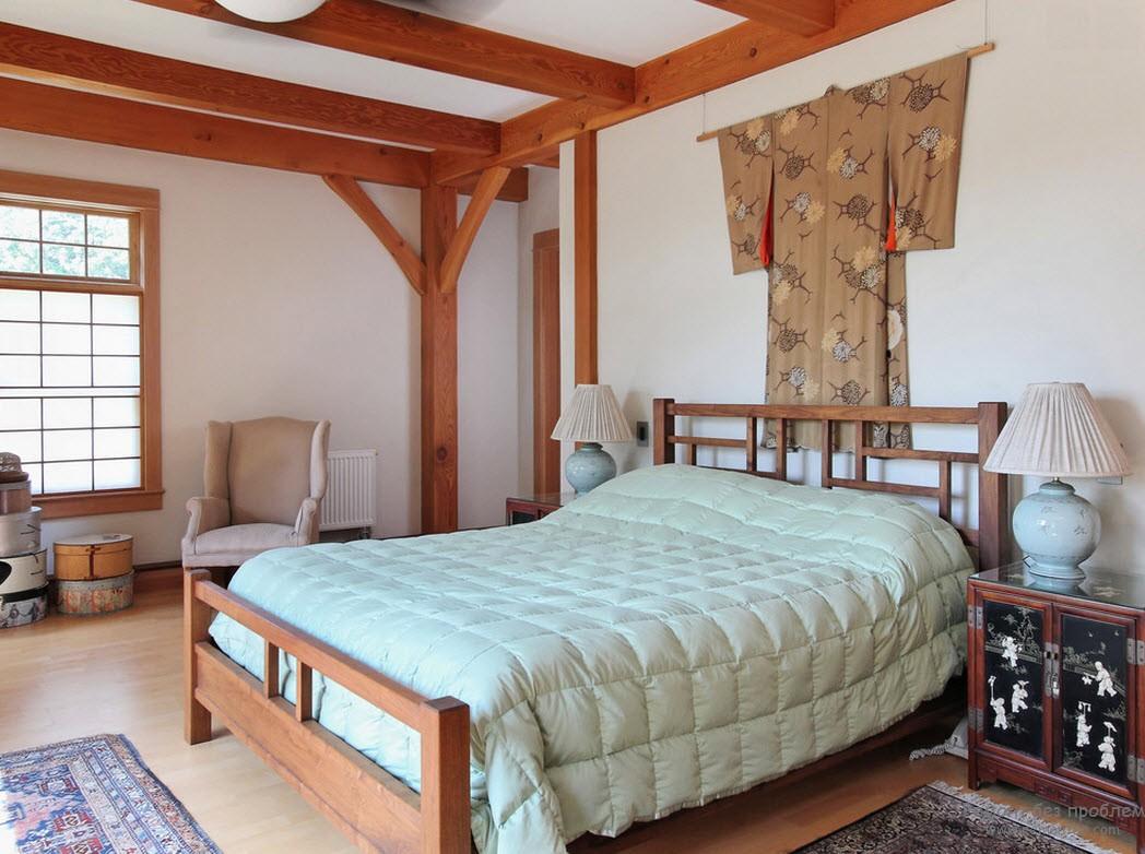 Декор спальни по китайским мотивам