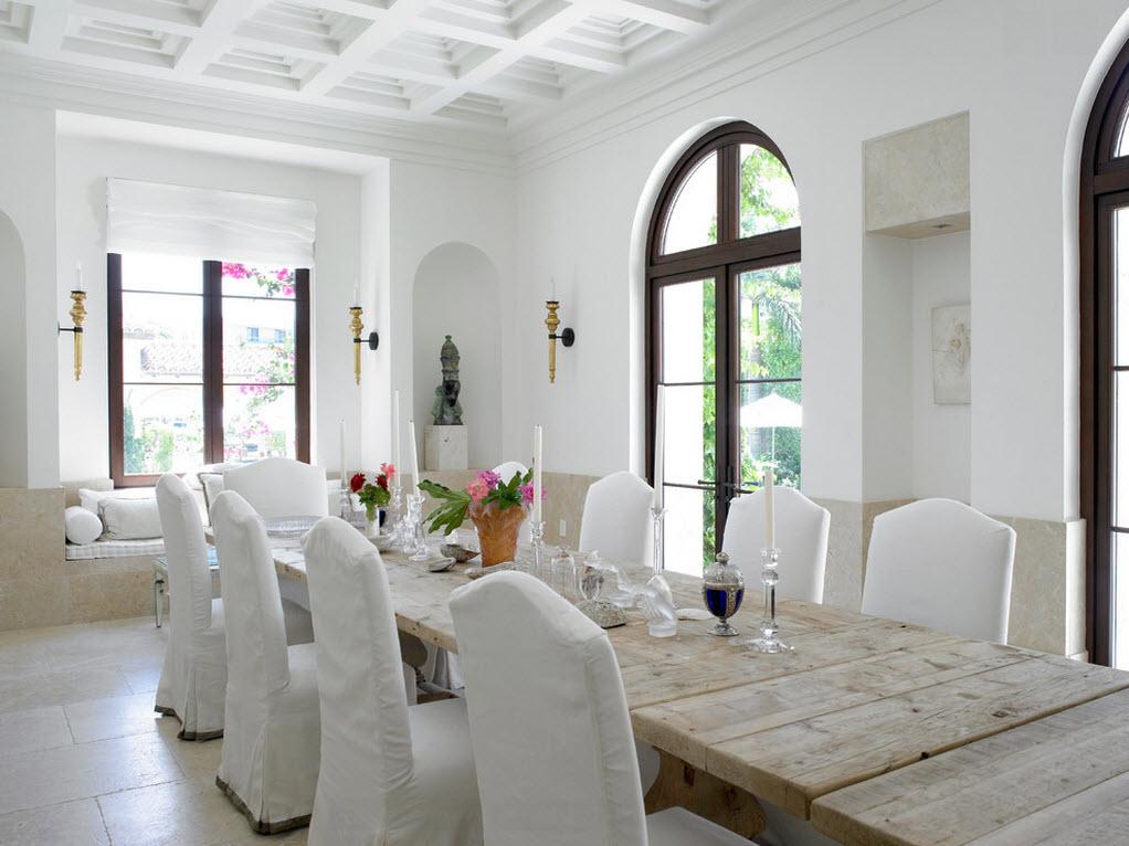 Благородный белый цвет в свадебном дизайне