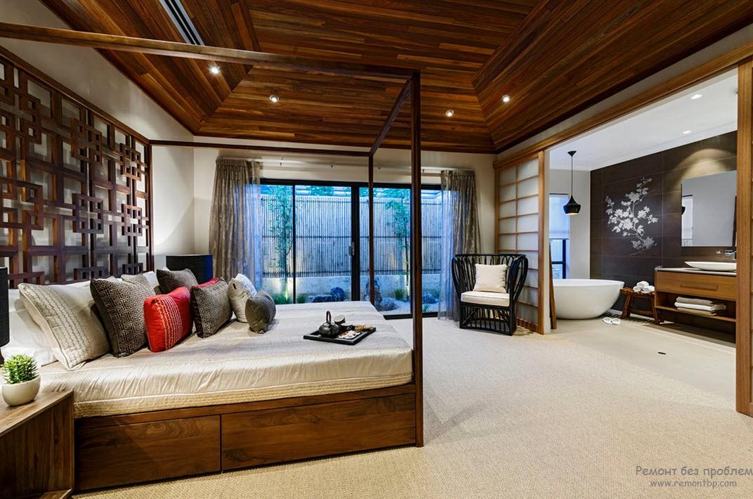 Спальня в китайской интерпретации