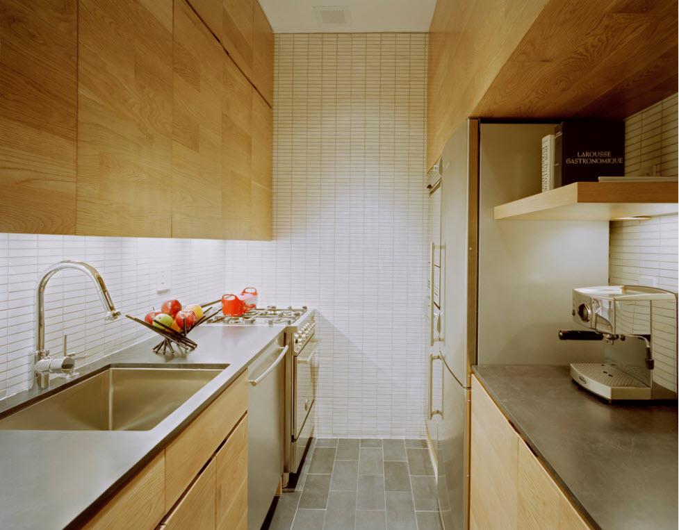 Стиль модерн в кухонном убранстве