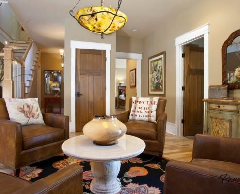 Двери одного стиля в квартире