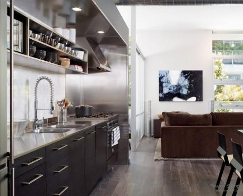 Разно уровневый потолок кухни