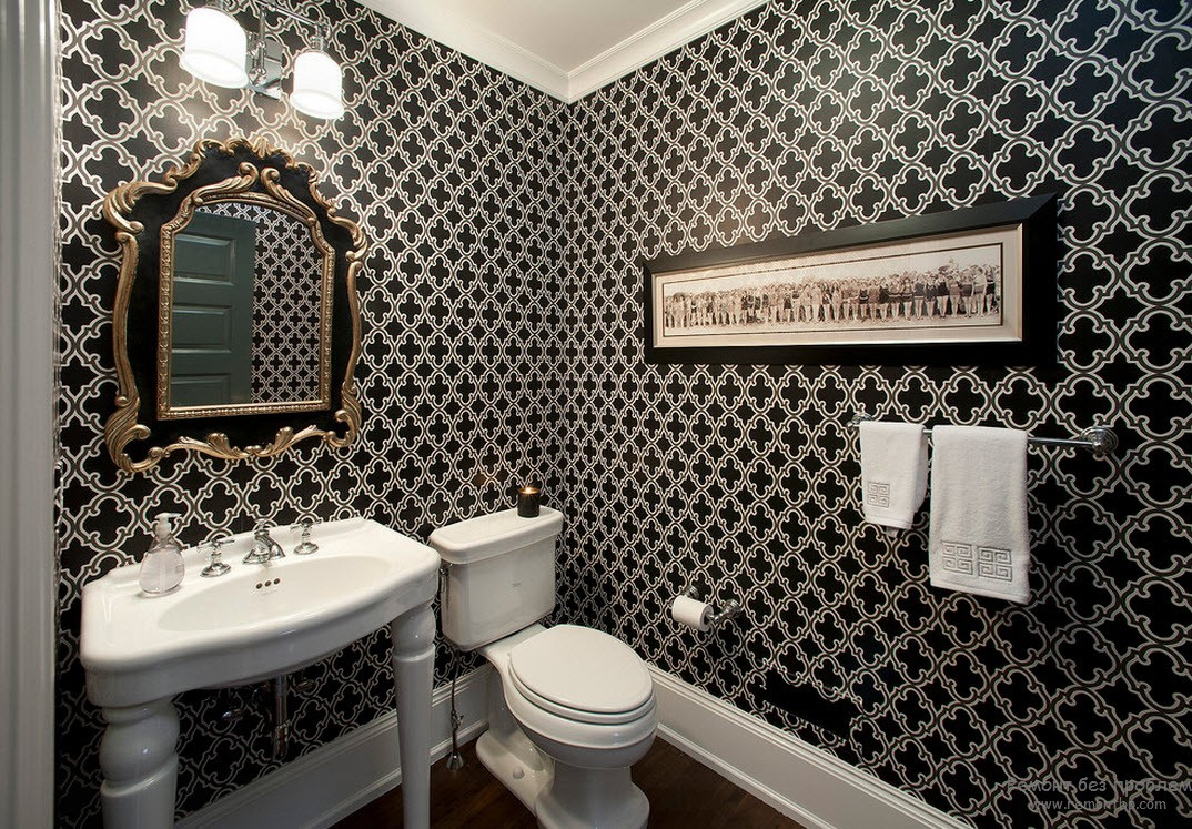 for Wallpaper trends for bathrooms