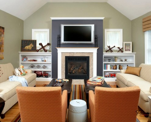 Симметричная планировка комнаты