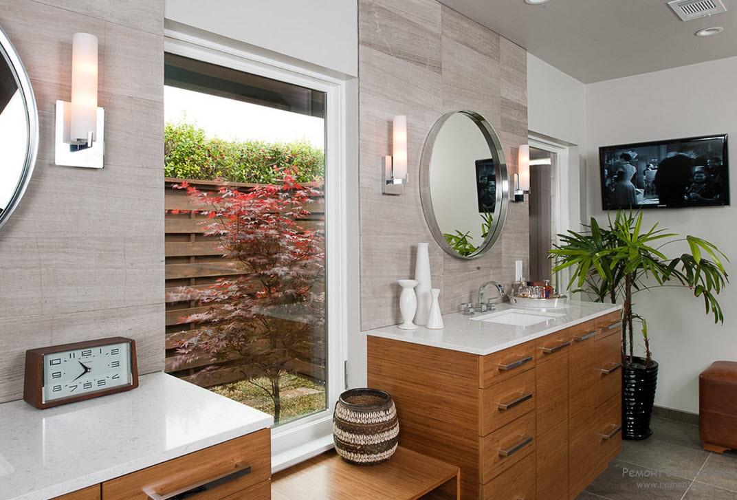 Креативная ванная комната