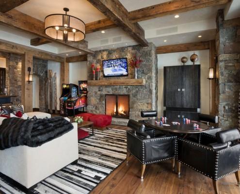 Интерьер и дизайн домов в стиле Шале: стильное деревянное искусство оформления