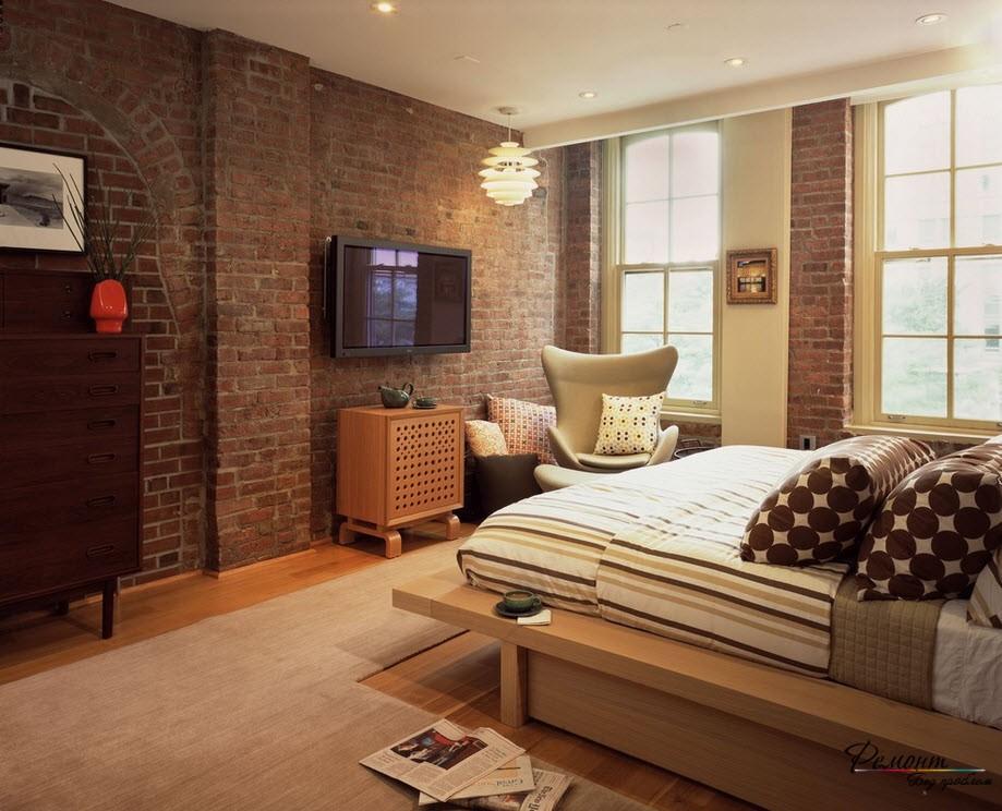 Телевизор в спальне - отличное дополнение