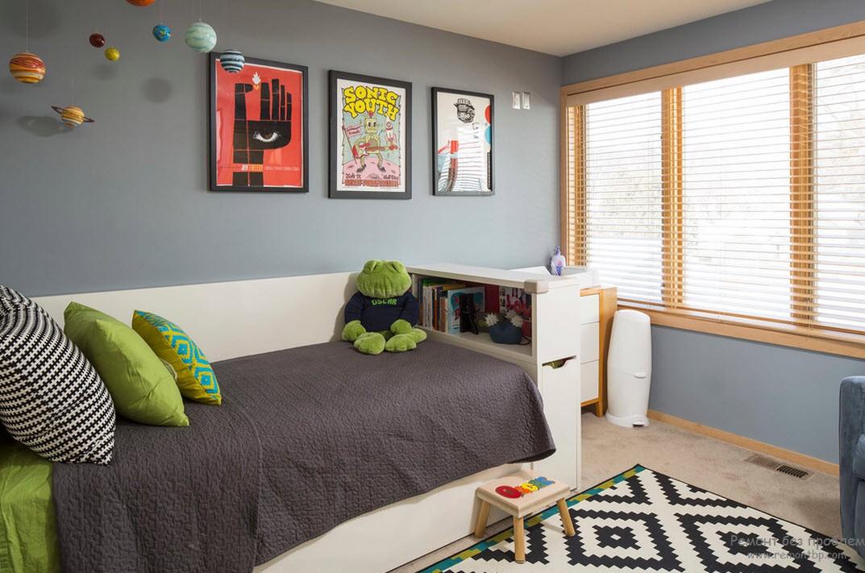 Использование нейтральных оттенков в интерьере комнаты для мальчика