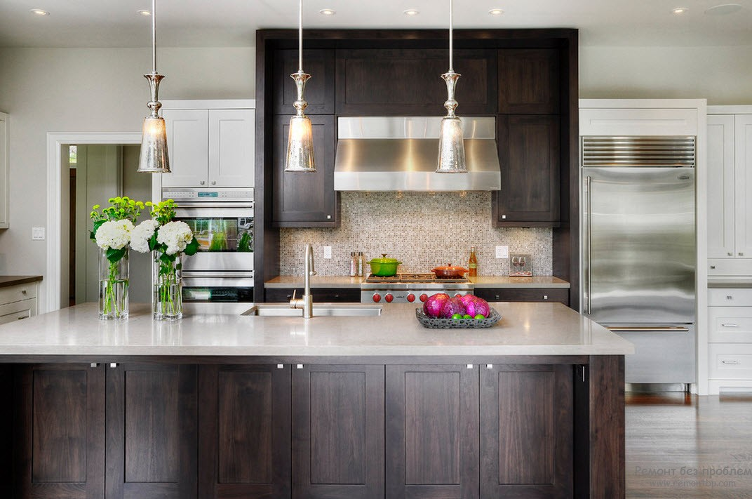 Кухня в стиле минимализма