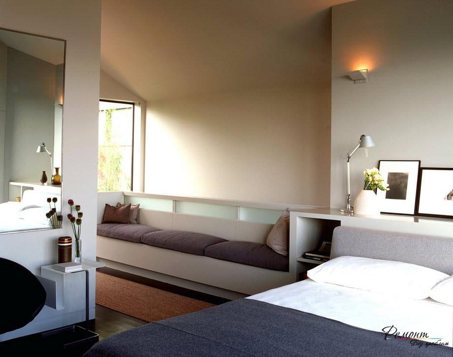 Рекомендуемая цветовая гамма спальни