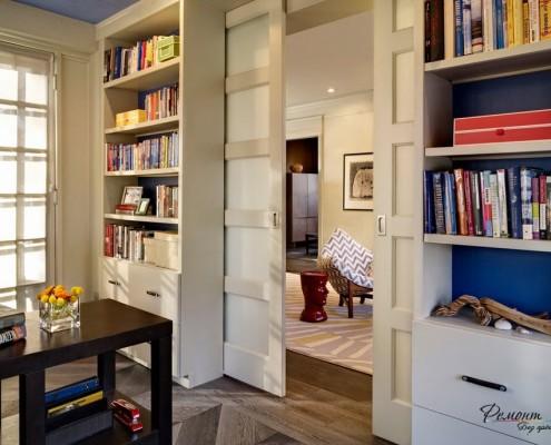 Дверная перегородка в помещении