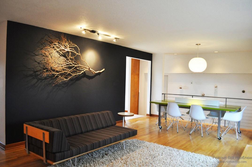 Декор стен в интерьере фото