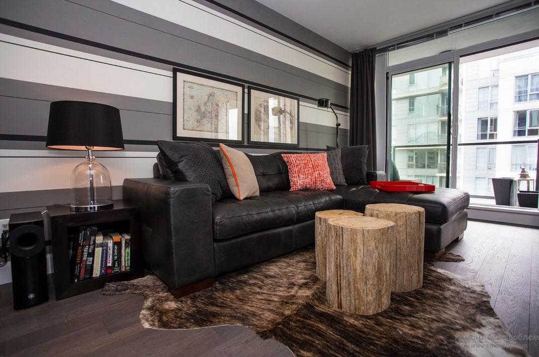Современная мебель и необычные элементы из дерева