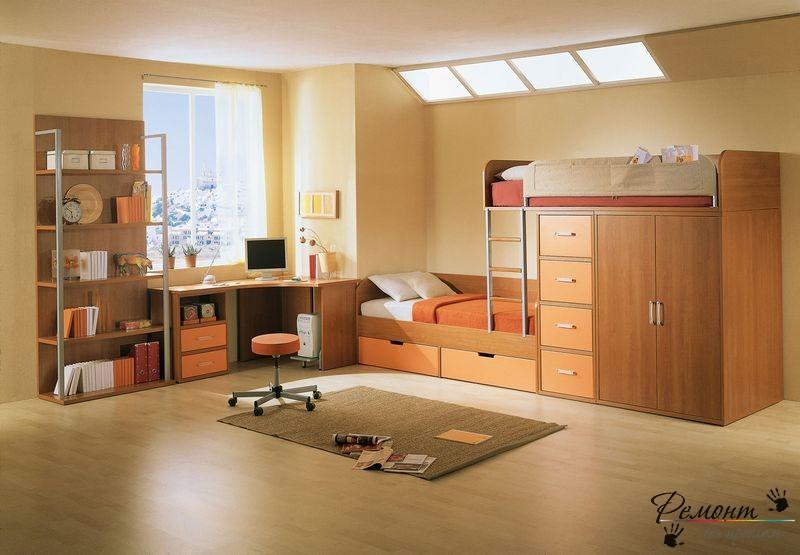 Идеи по дизайну интерьера детской комнаты для мальчика на фото