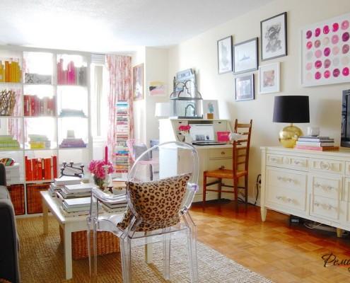 Зонирование гостиной с помощью расстановки мебели