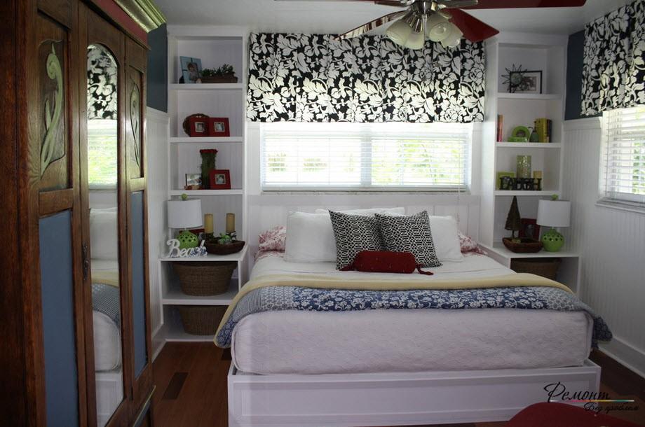 Приставная и встроенная мебель спальни