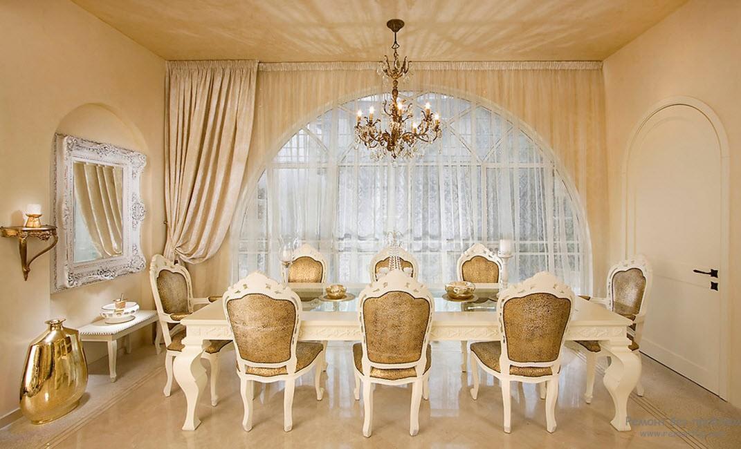 Изысканный стиль Рококо в интерьере, Старинный дизайн домов