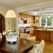 Слияние кухни с гостиной