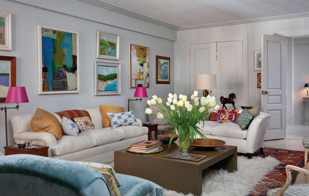 Cтиль эклектика в интерьере: смешанный дизайн квартиры, сочетание стилей