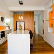 Оранжевое настроение для кухни