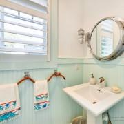 Морские аксессуары в интерьере ванной комнаты