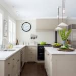 Интерьер кухни бежевого цвета